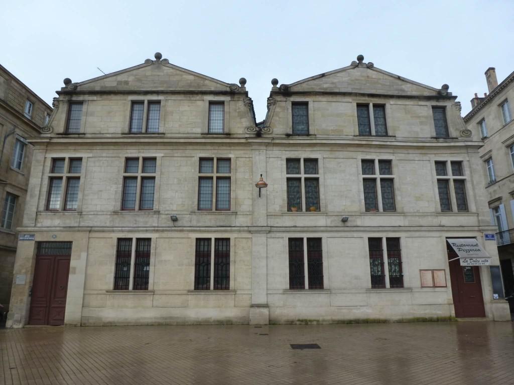 BORDEAUX - Maisons hollandaises