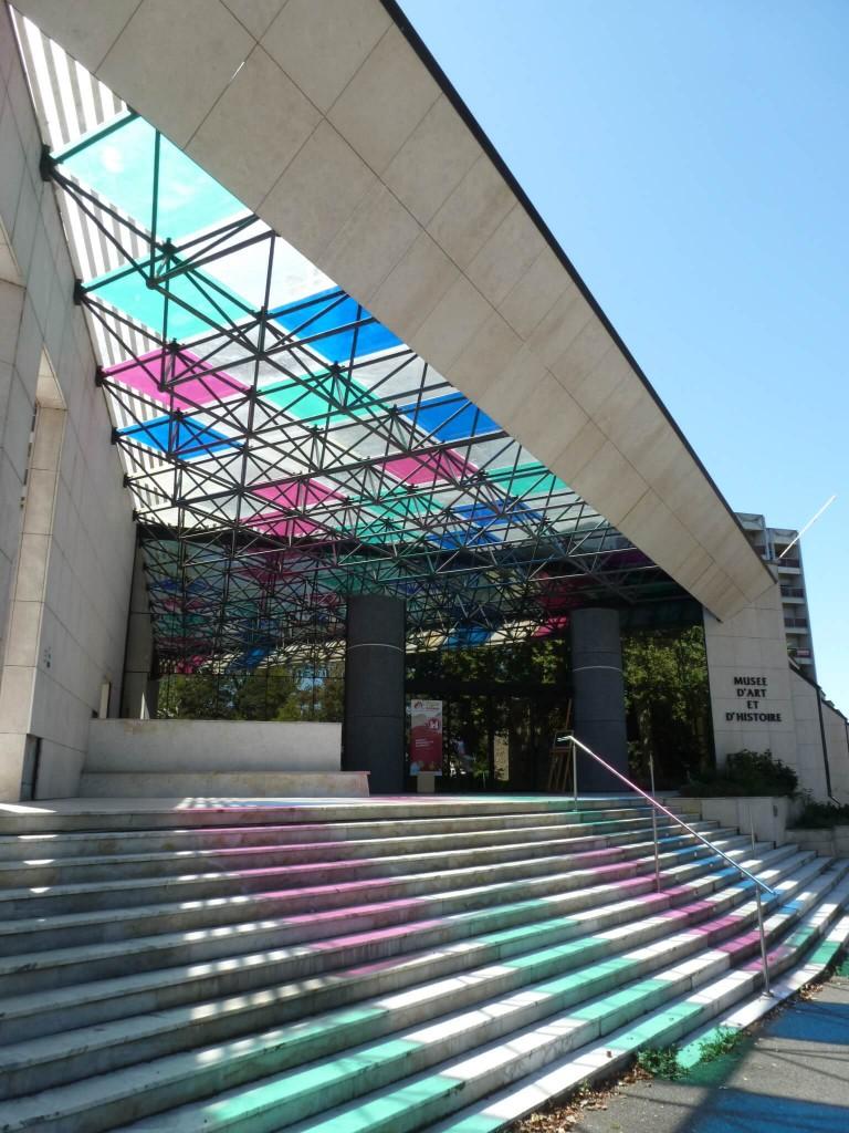 CHOLET Sous la couleur, Daniel Buren, 2004