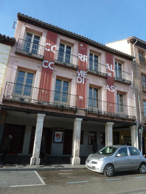 La façade actuelle du théâtre