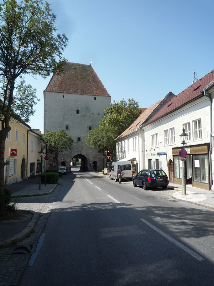 La façade côté ville