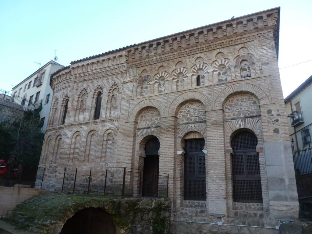 L'abside (fin XIIe) ajoutée à la mosquée (fin Xe)