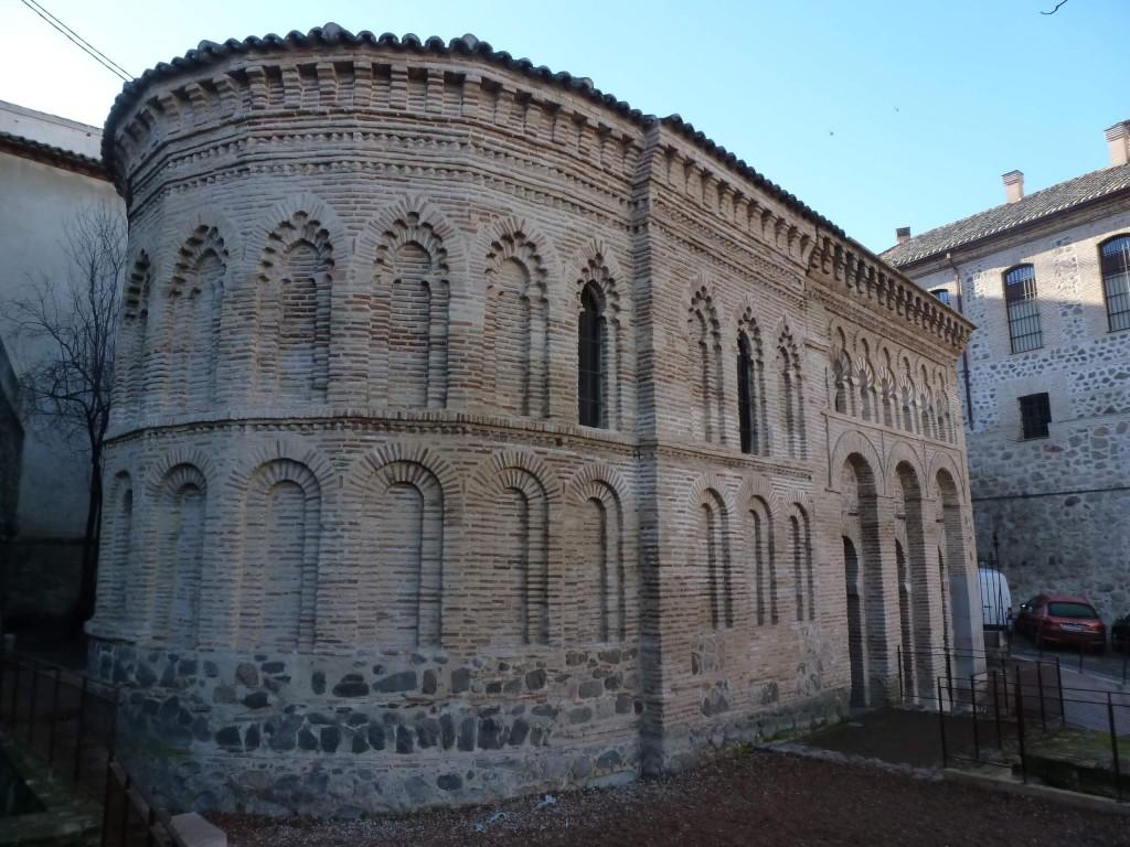 L'abside construite lors de sa transformation en église