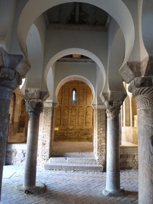 L'abside vue de la salle de l'ancienne mosquée