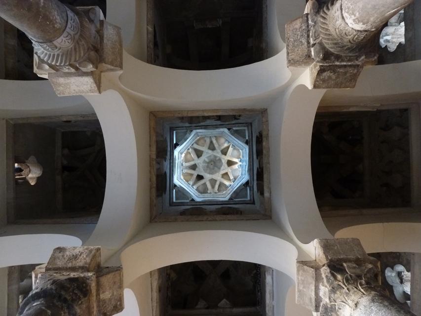 La coupole centrale de l'ancienne mosquée.