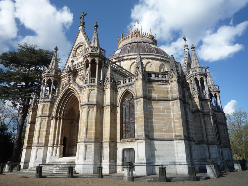 La chapelle royale de Dreux