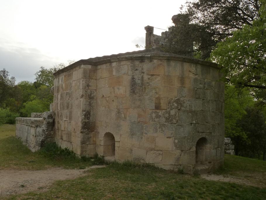 La chevet de la chapelle