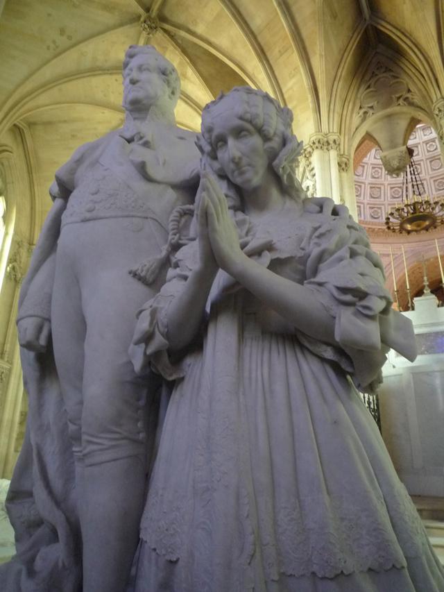 Tombeau de Louis-Philippe Ier et son épouse Marie Amélie