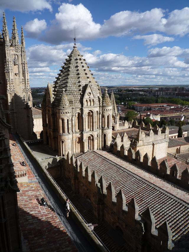 La tour du coq et le toit  de la vieille cathédrale