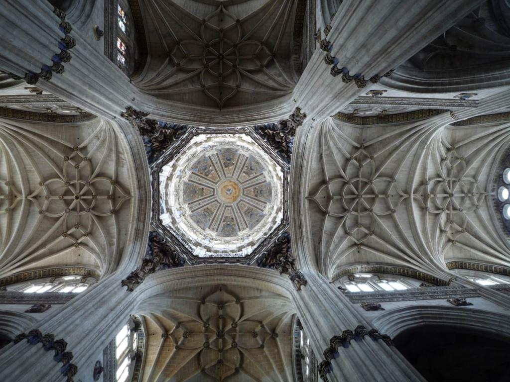 La coupole de l'édifice gothique