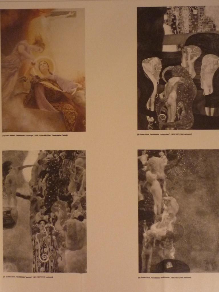 Seule l'œuvre de Franz Matsch est conservée