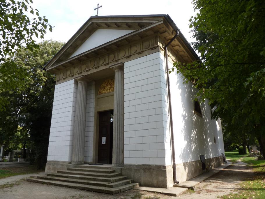 La façade principale du mausolée