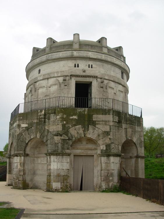 Le mausolée de Théodoric construit vers 520