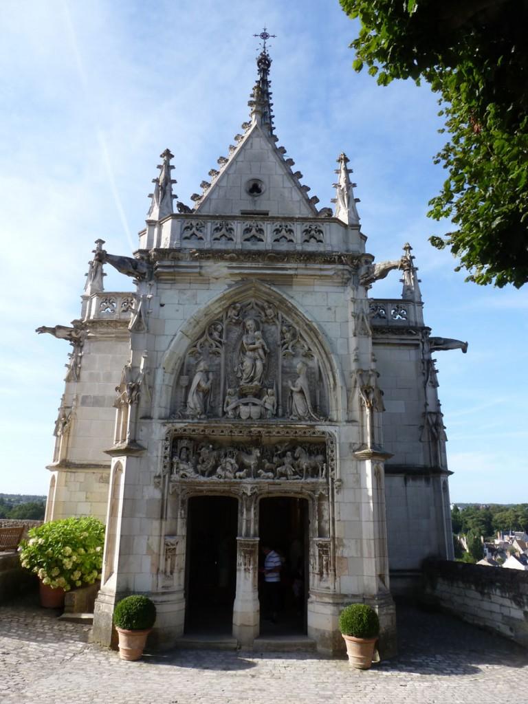 La chapelle Saint-Hubert, construite à la fin du XVe siècle