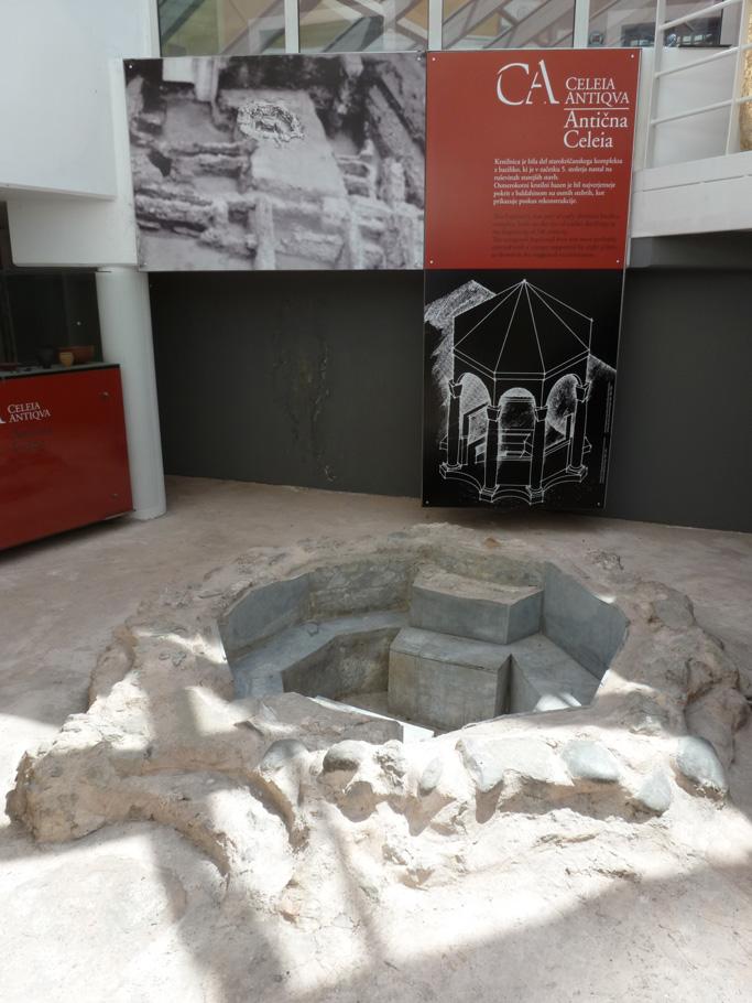 Celje - Baptistère paléochrétien (1)