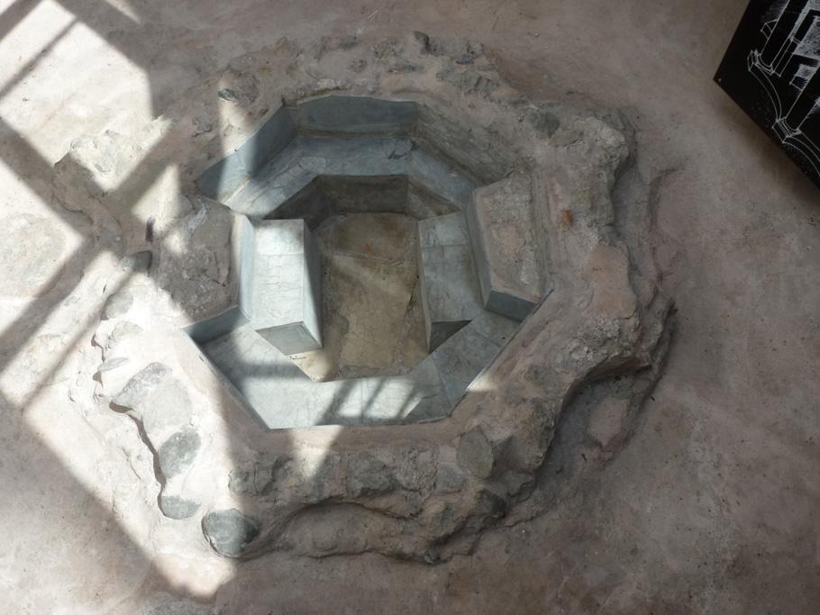 Celje - Baptistère paléochrétien (2)