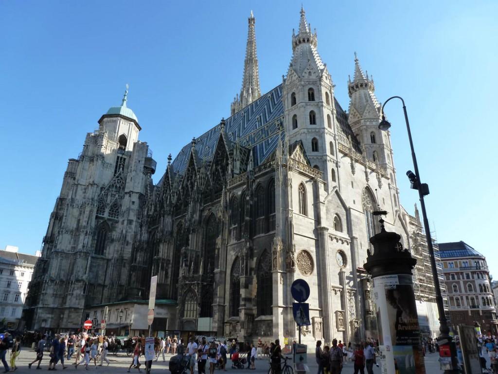 """La cathédrale Saint-Étienne ou """"Stephansdom"""""""