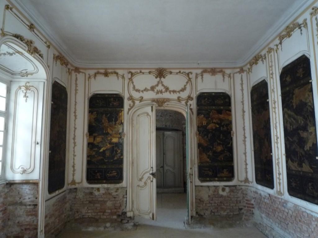 La chambre chinoise (thème fréquent au XVIIIème siècle)