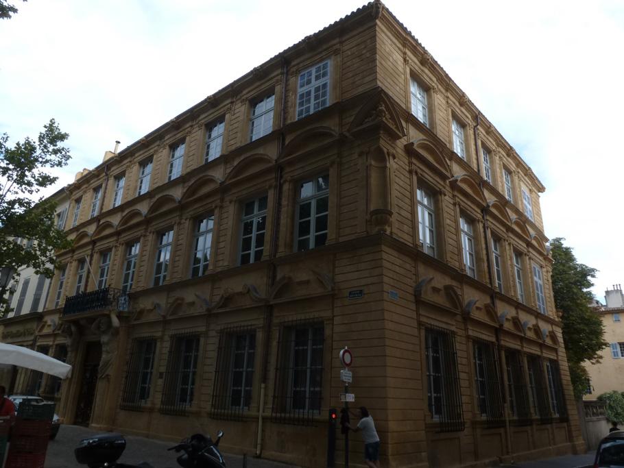 L'hôtel Maurel de Pontevès sur le cours Mirabeau