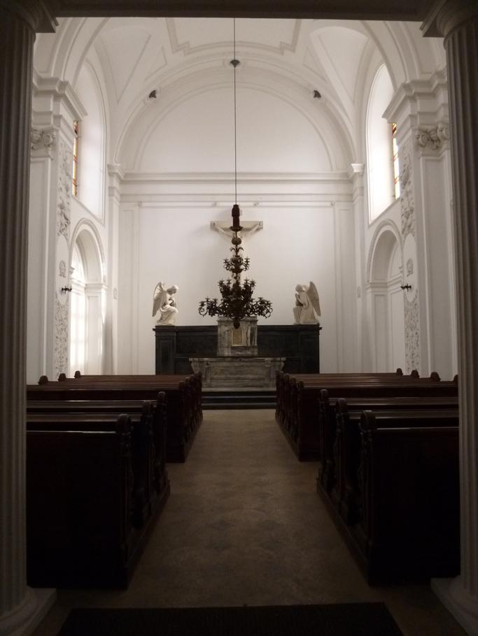 La nouvelle chapelle à nef unique