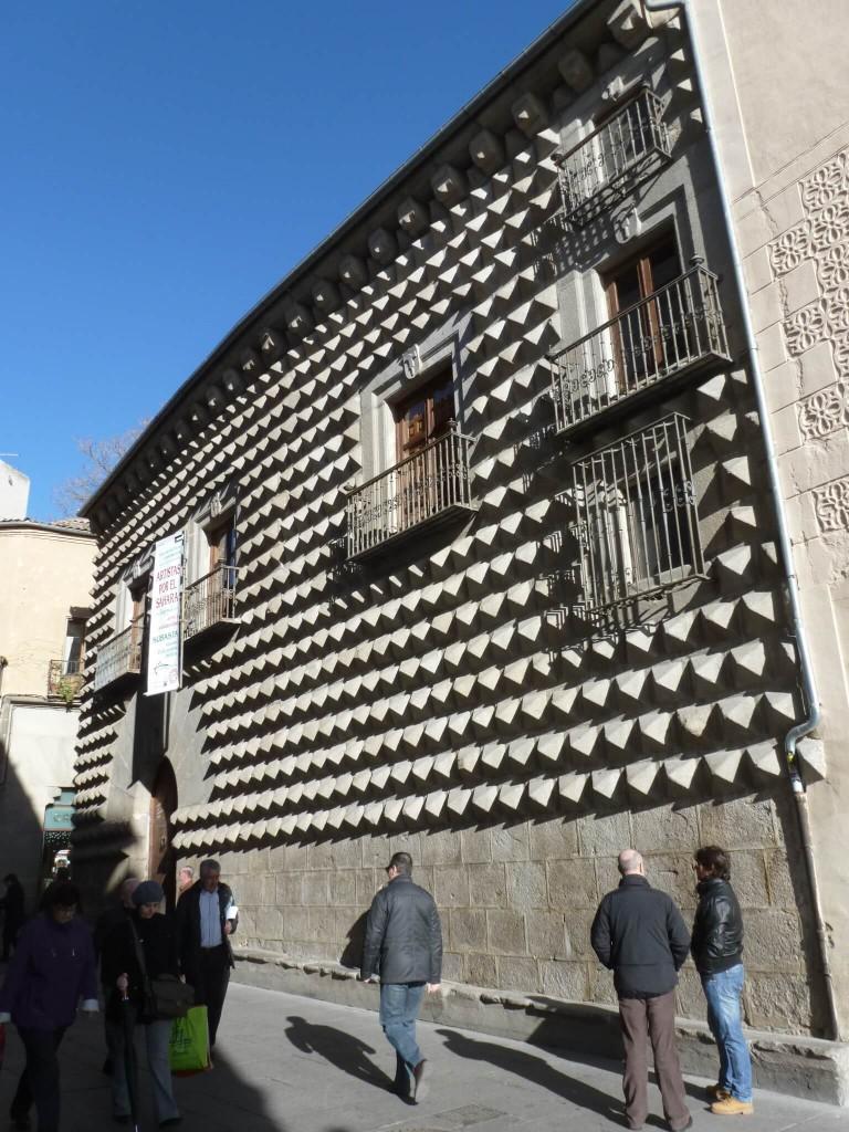 La casa de los Picos à Segovie