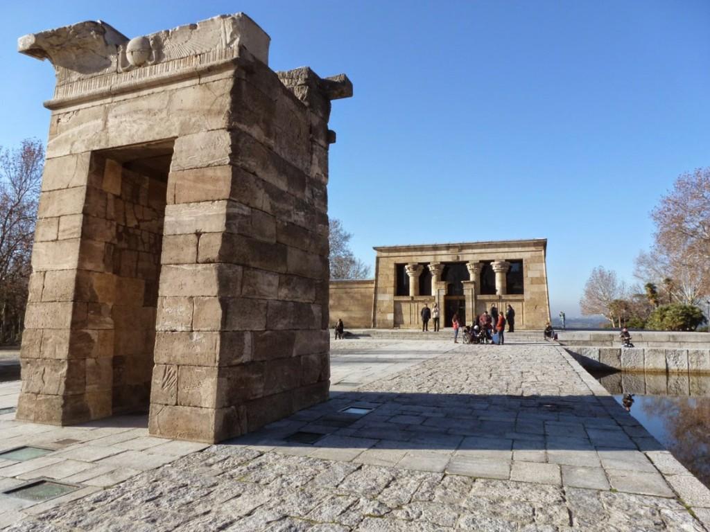 Dédié au dieu Amon, il a été érigé au IIème siècle av JC.