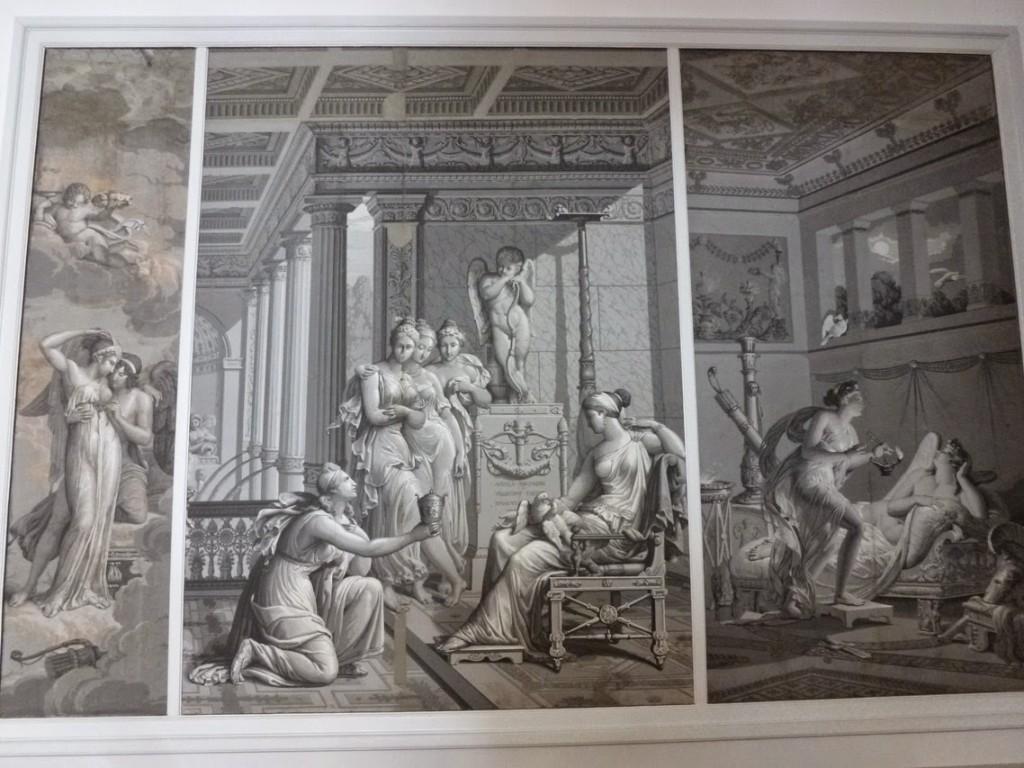 Hymne de Psyché et d'Amour / Psyché rapportant à Vénus un vase d'eau de la Fontaine de jouvence / Psyché voulant poignarder l'Amour endormi