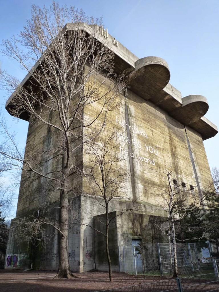 La tour 1-L dans le parc de Arenberg