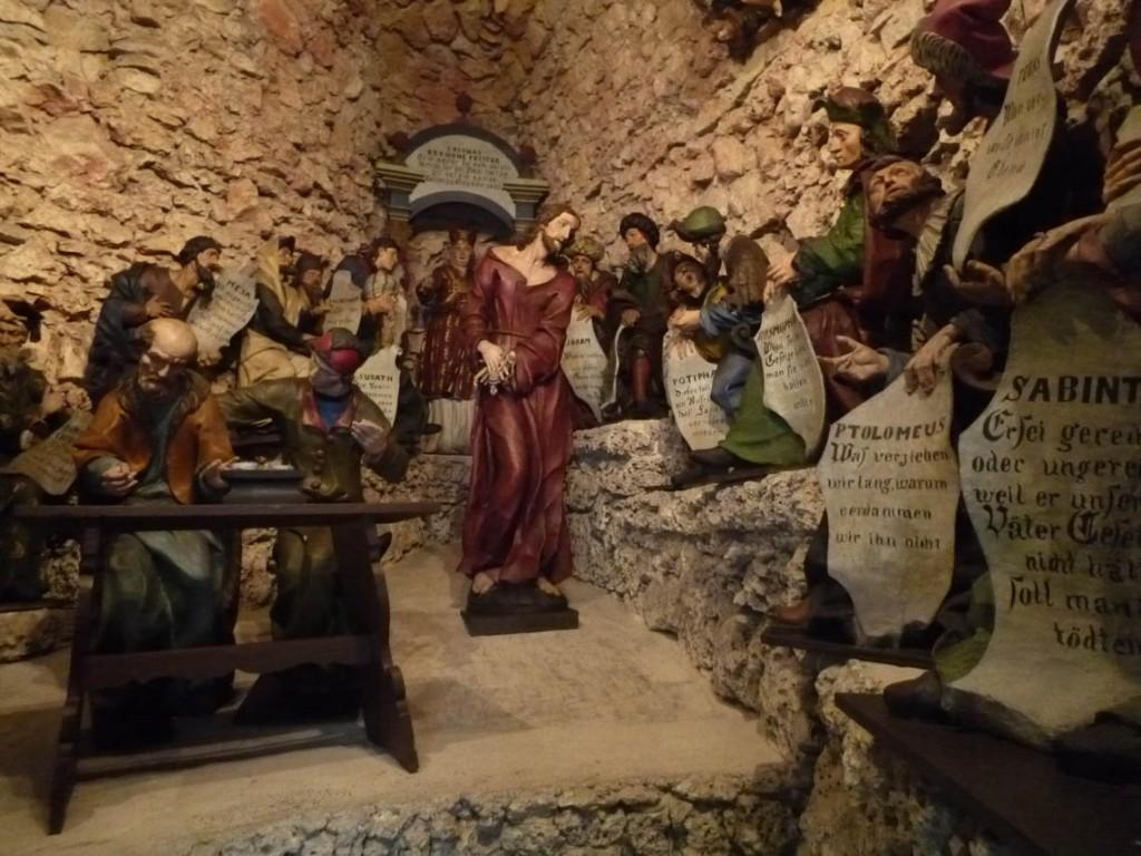 9e station: Jésus devant le Grand conseil