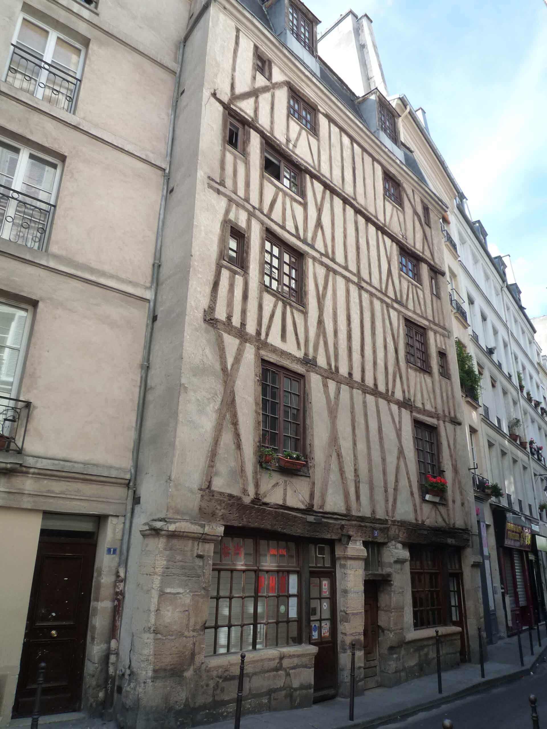 La plus vieille maison de paris architectureanecdotes - La maison paris 17 ...
