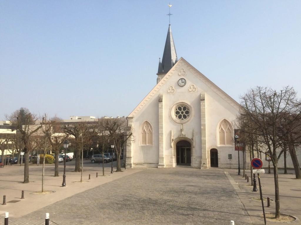 L'église Saint-Saturnin d'Antony